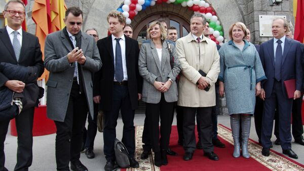 Встреча итальянской делегации с руководством ПАО Массандра в Ялте - Sputnik Česká republika