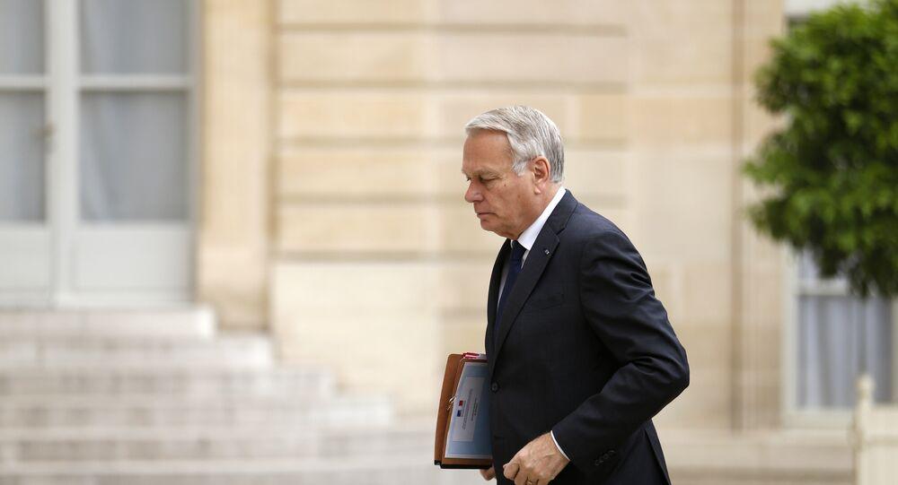 Francouzský ministr zahraničí Jean-Marc Ayrault