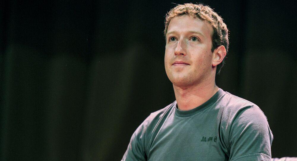 Mark Zuckerberg - zakladatel Facebooku