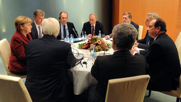 Summit normandské čtyřky v Berlíně - Sputnik Česká republika