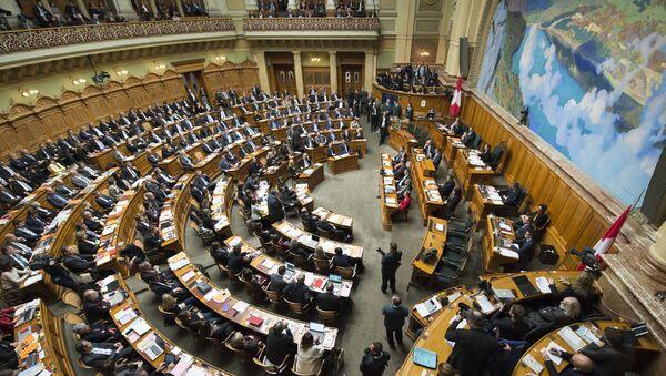 Švýcarský parlament. Ilustrační foto - Sputnik Česká republika
