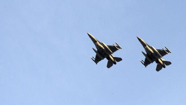 Belgické stíhačky F-16 - Sputnik Česká republika