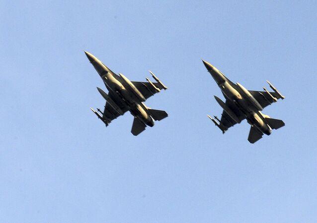 Belgické stíhačky F-16