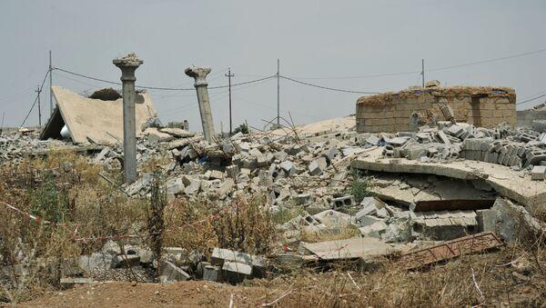 Освобожденный от ИГ поселок Башиир в иракской провинции Киркук - Sputnik Česká republika