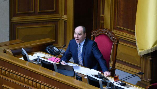 Předseda Nejvyšší rady Andrij Parubij - Sputnik Česká republika