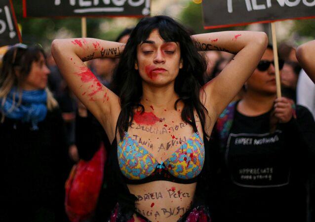 Protesty proti genderové nerovnosti