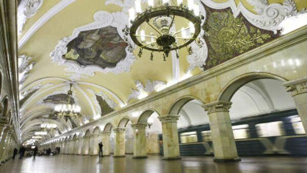 Moskevské metro - Sputnik Česká republika