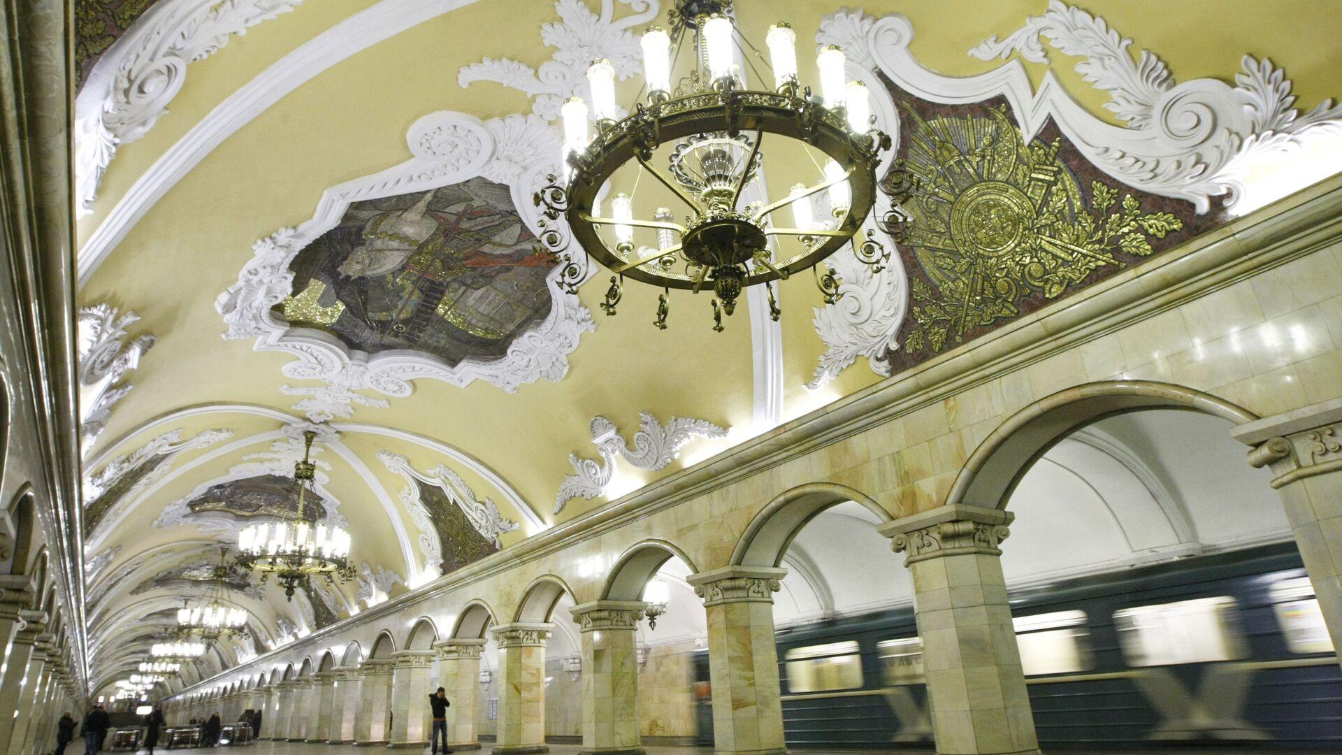 Moskevské metro: 1935-2015 - Sputnik Česká republika, 1920, 27.08.2021