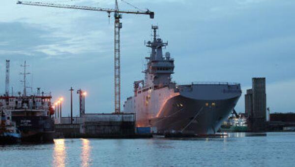 Vrtulníková loď typu Mistral – Vladivostok - Sputnik Česká republika