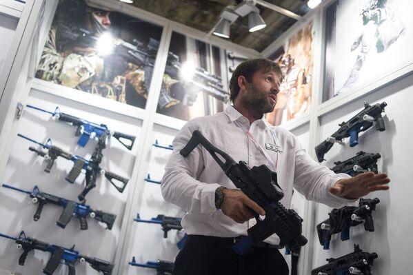 Interpolitex: kulomety, odstřelovačské pušky, chytré náramky - Sputnik Česká republika