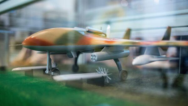 Běloruský dron Burevestnik MB. Ilustrační foto - Sputnik Česká republika