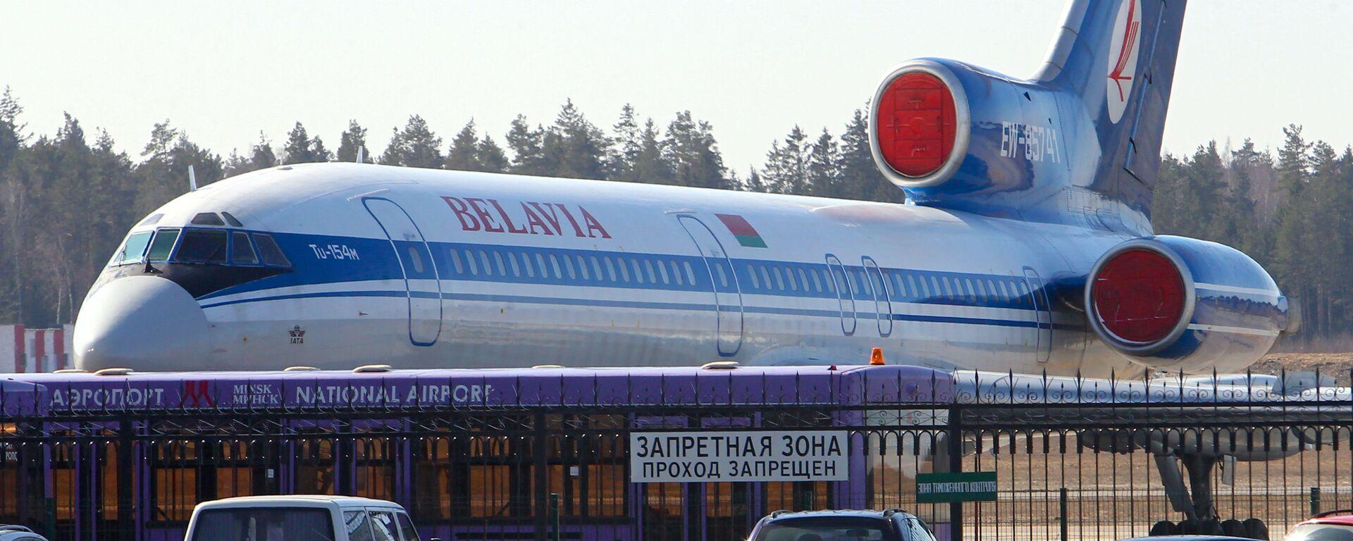Letadlo společnosti Belavia - Sputnik Česká republika, 1920, 27.05.2021