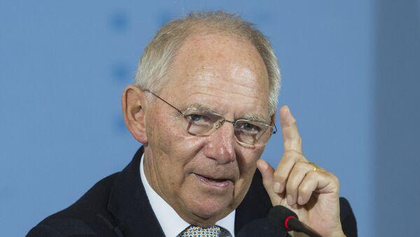 Bundesfinanzminister Wolfgang Schäuble - Sputnik Česká republika