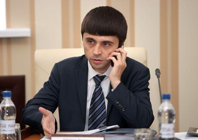 Ruslan Balbek při jednání