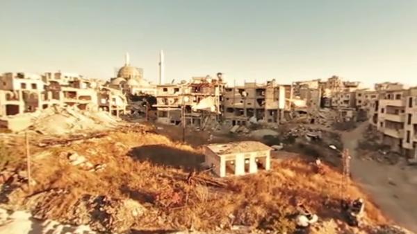 Homs v troskách: 360 videí prázdného syrského města - Sputnik Česká republika