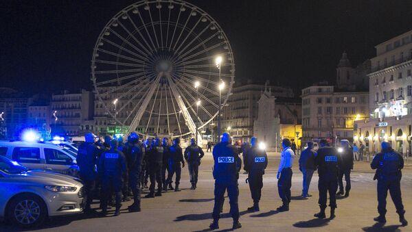 Protestní akce policistů ve Marseille - Sputnik Česká republika