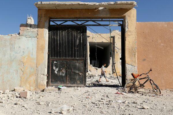 Útok na školu v syrském Idlíbu - Sputnik Česká republika