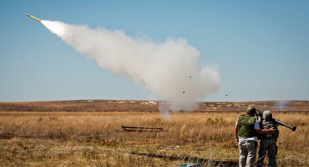 Přenosná protiletadlová raketa Stinger