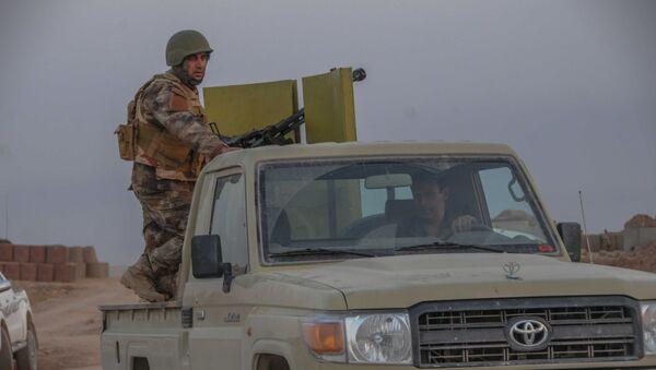 Pešmergové u Mosulu, Irák - Sputnik Česká republika