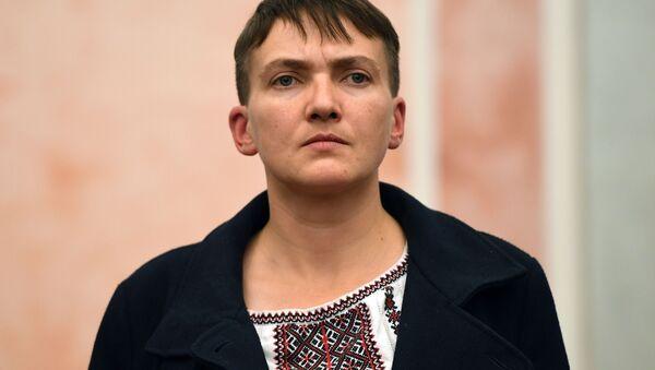 Naděžda Savčenková v Moskvě - Sputnik Česká republika