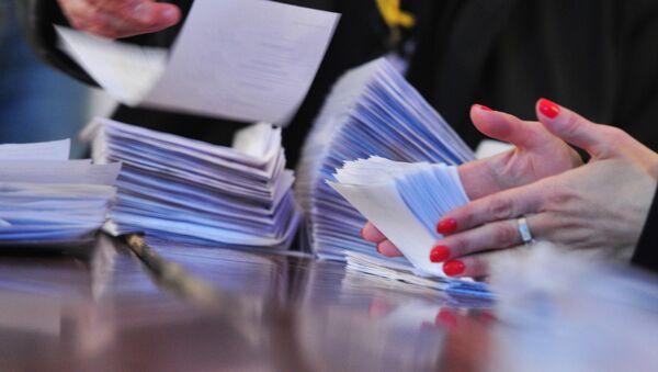 Volby (ilustrační foto) - Sputnik Česká republika