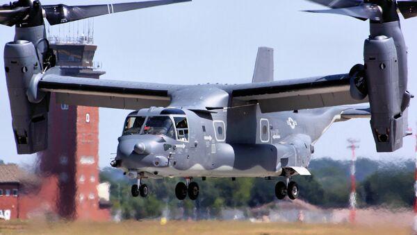 CV-22 Osprey - RAF Mildenhall - Sputnik Česká republika
