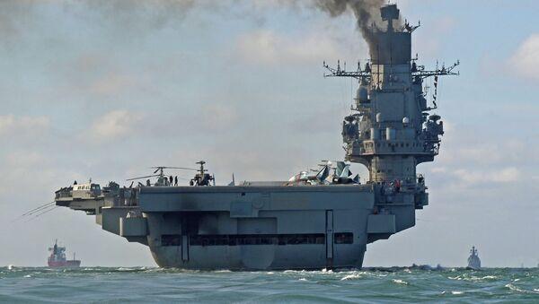 Admirál Kuzněcov v Lamanšském průlivu - Sputnik Česká republika