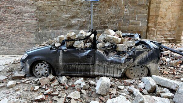 Последствия землетрясения в Италии - Sputnik Česká republika
