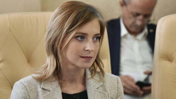 Poslankyně Státní dumy Ruské federace a bývalá prokurátorka Krymské republiky Natalja Poklonskaja - Sputnik Česká republika