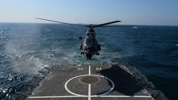 Rumunská fregata Regina Maria v Černém moři - Sputnik Česká republika