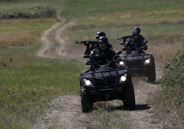 Serbští důstojníci