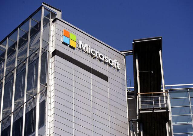 Logo společnosti Microsoft
