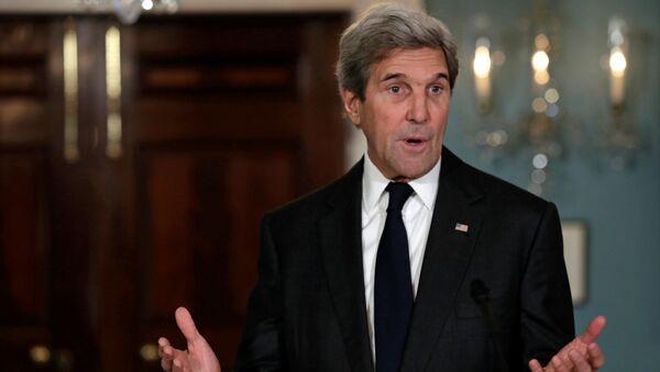 Americký ministr zahraničí John Kerry - Sputnik Česká republika