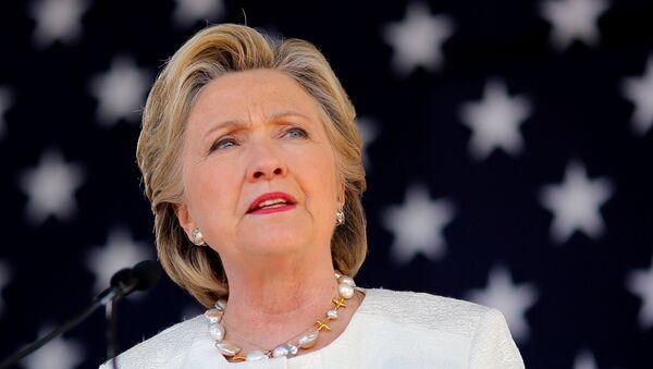 Bývalá kandidátka na amerického prezidenta Hillary Clintonová - Sputnik Česká republika