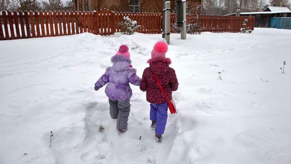 Děti v ruské vesnici - Sputnik Česká republika
