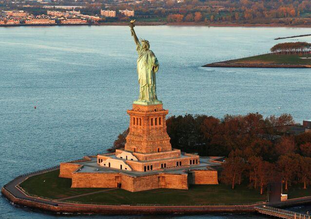 Socha Svobody v New Yorku