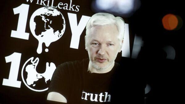 zakladatel portálu WikiLeaks Julian Assange - Sputnik Česká republika