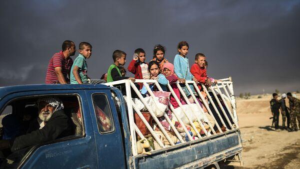 Iráčtí běženci - Sputnik Česká republika