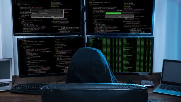 Hacker a počítač - Sputnik Česká republika