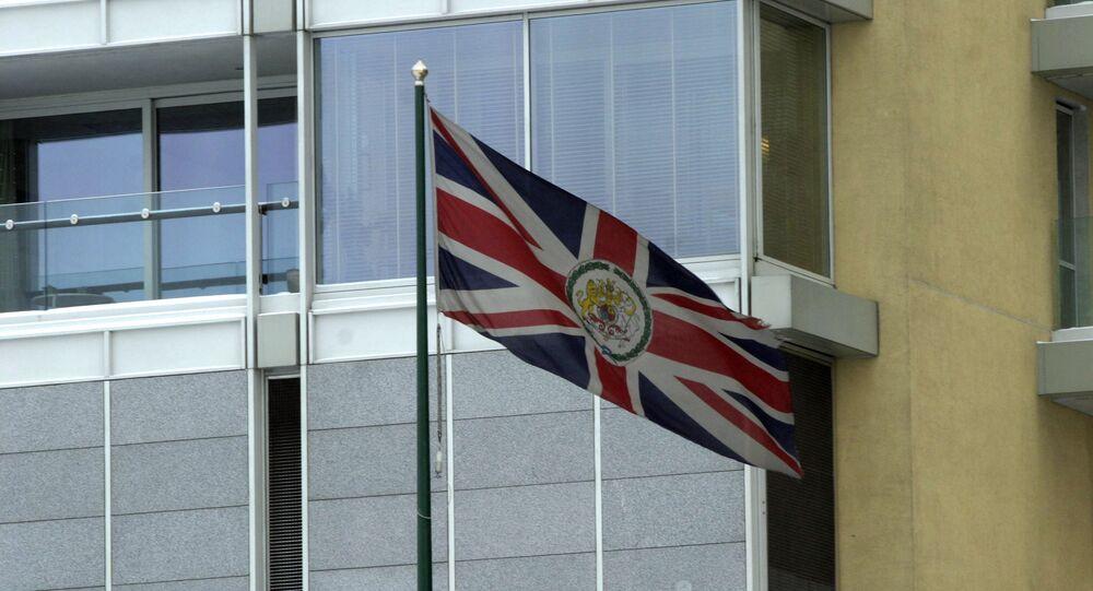 Velvyslanectví Velké Británie v Moskvě. Ilustrační foto