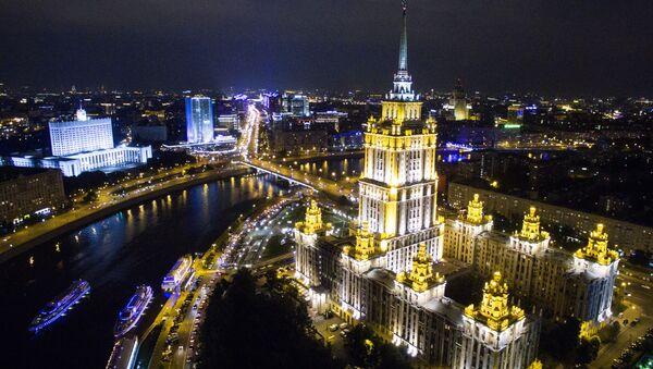 Hotel Radisson Royal Moscow (Ukrajina) na Kutuozovském prospektu - Sputnik Česká republika