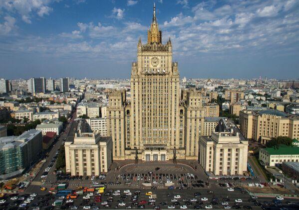 Budova ministerstva zahraničních věcí RF - Sputnik Česká republika