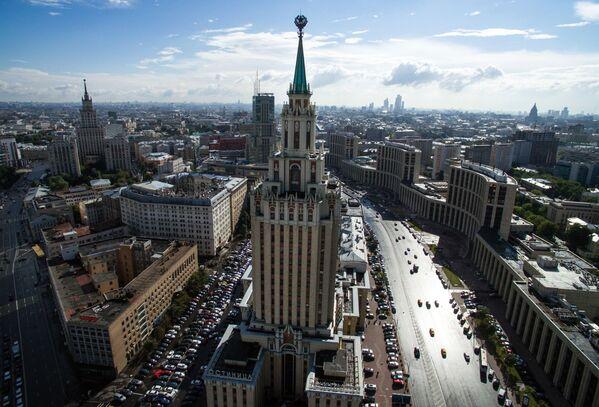 Hotel Leningradskaja na Komsomolském náměstí - Sputnik Česká republika