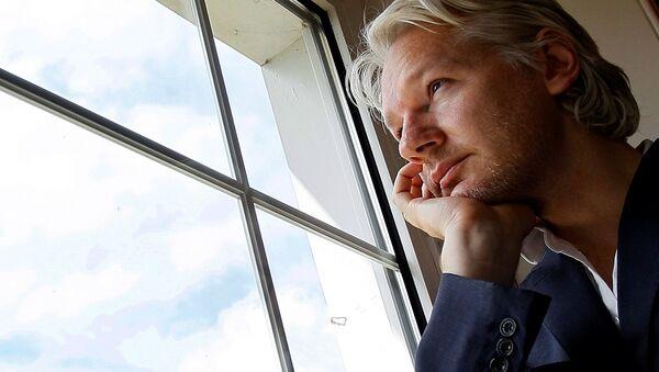 Šéfredaktor WikiLeaks Julian Assange - Sputnik Česká republika