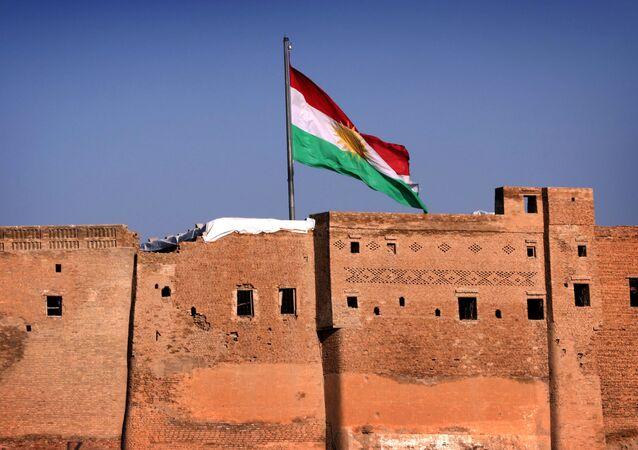 Vlajka Iráckého Kurdistánu