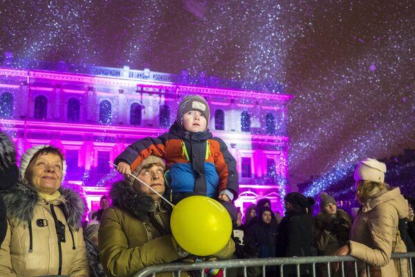 3D-mapping show v Petrohradu - Sputnik Česká republika
