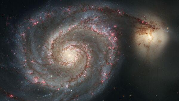 Vírová galaxie – galaxie v souhvězdí Honicích psů - Sputnik Česká republika
