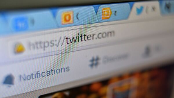 Webové stránky Twitter - Sputnik Česká republika