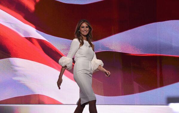 První dáma USA Melania Trumpová - Sputnik Česká republika