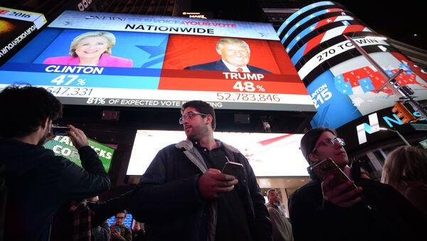 Times Square v New Yorku - Sputnik Česká republika